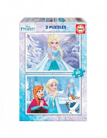 Frozen Puzzle 2x20pz 8412668168473