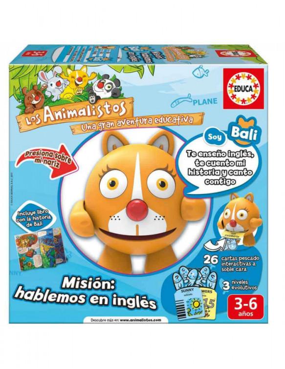 Animalisto Bali La Gatita (Inglés) 8412668172487