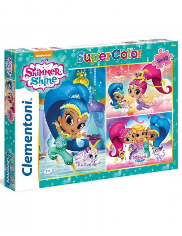 Shimmer/Shine Puzzle 3x48pz 8005125252183