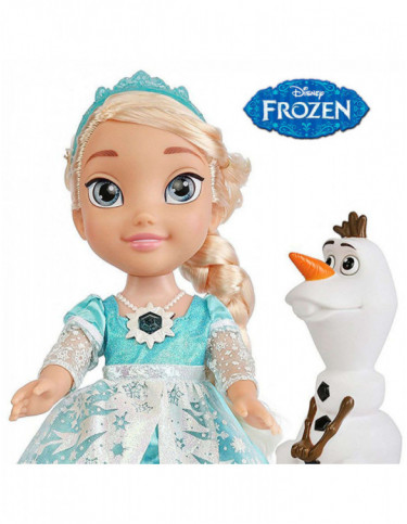 Elsa Musical Vestido Luminoso