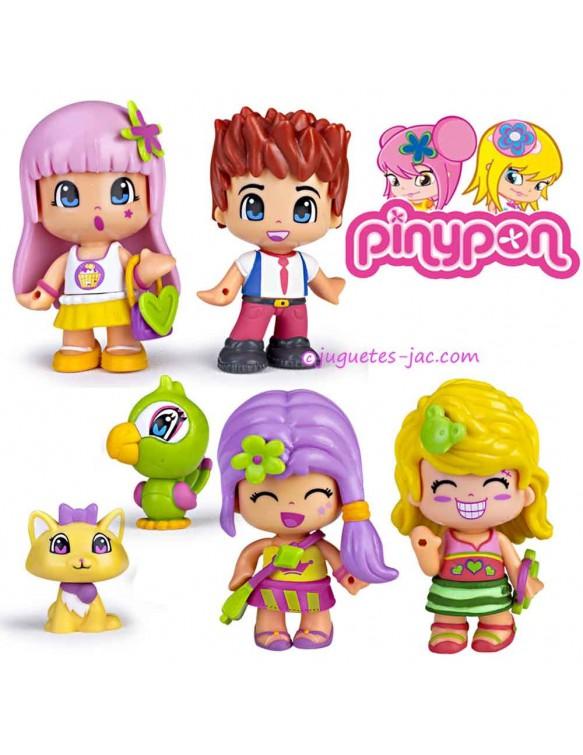Pin y Pon 4 figuras 8410779320605