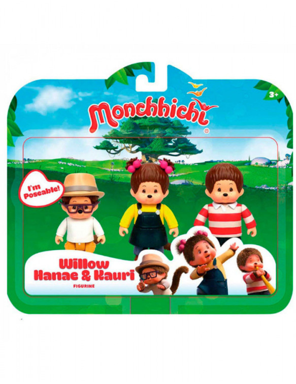 Monchhichi 3 Figuras 4891813815044