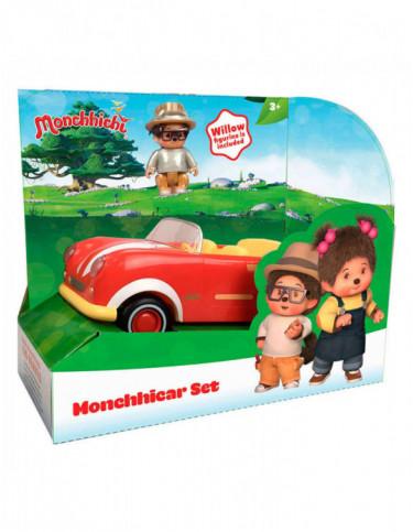 Monchhichi Vehículo con Figura