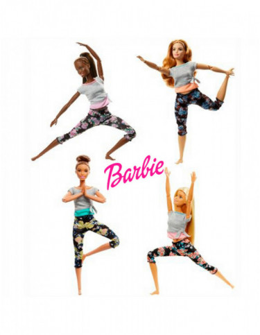 Barbie Movimiento sin Limite 887961643787
