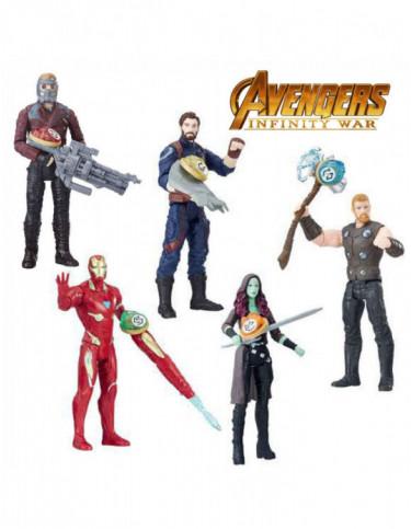 Avengers Figuras con Gema y Accesorio 5010993463466