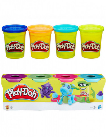 Playdoh 4 Botes 5010994947033