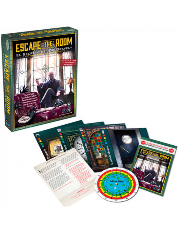 Escape The Room: El Secreto del Dr. Gravely Thinkfun