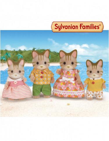 Sylvanian Familia Gatos Rayas 5054131051801