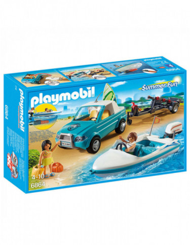 Playmobil Pick Up con Lancha 4008789068644