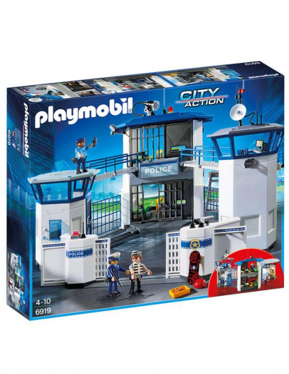 Playmobil Comisaria de Policía con Prisión 4008789069191