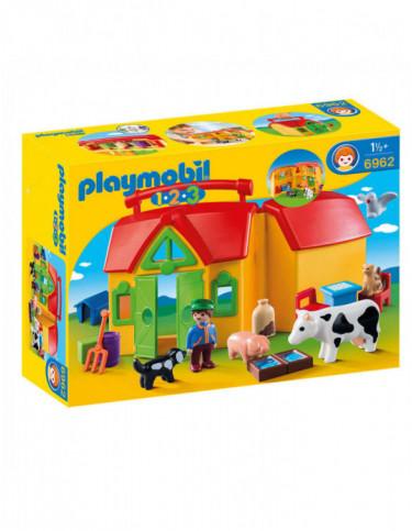 Playmobil 1.2.3 Granja Maletín 4008789069627