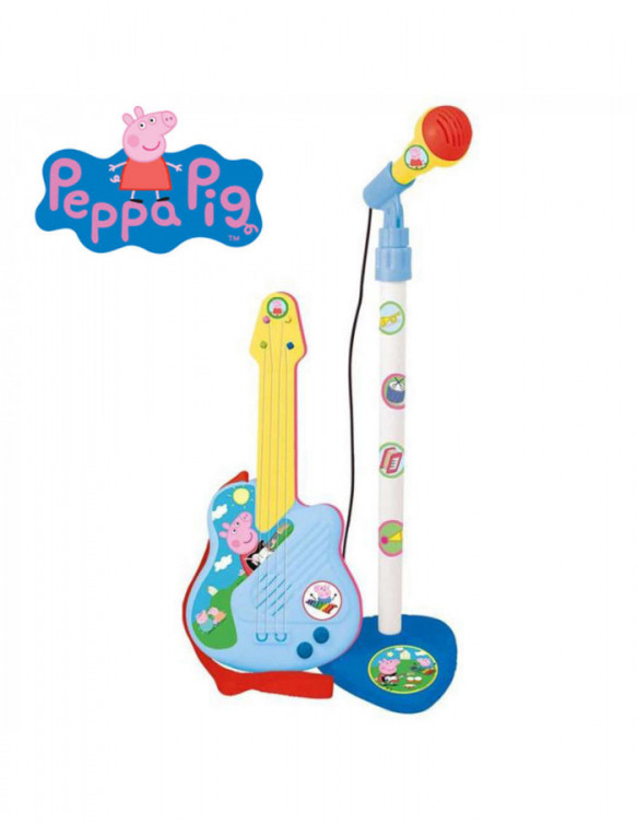 Peppa Pig Micro y Guitarra 8411865023226