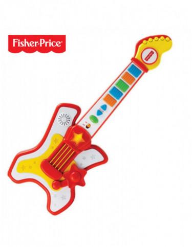 Guitarra Rockstar Ficher Price 731398921836