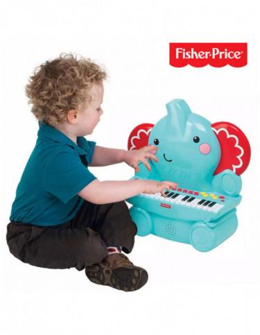 Piano Elefante Fisher Price 731398924608