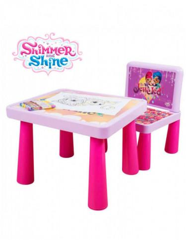 Shimmer y Shine Mesa Colorea 5055114351703