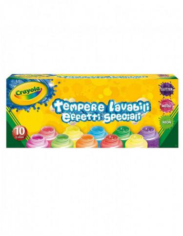 Témperas Lavables Colores Surtidos 5010065012066