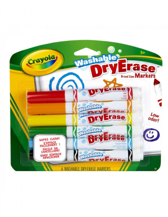 Rotuladores Lavables Dry Erase 071662985806 Dibujar y pintar