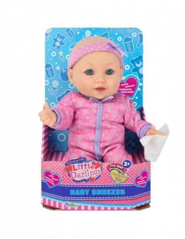 Muñeca Estornuda Little Darling 845771034434