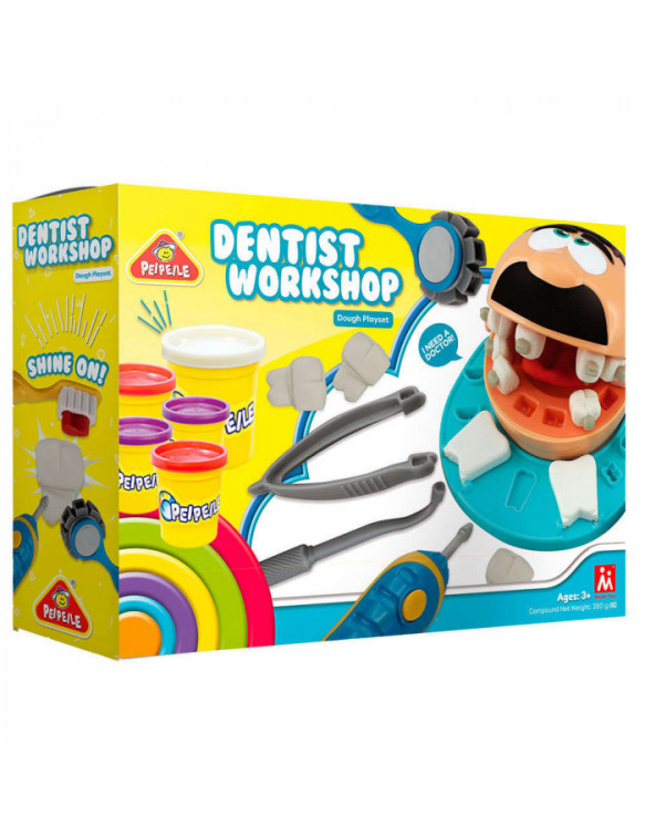 Plastilina Dentista 6930197632040 Plastelina