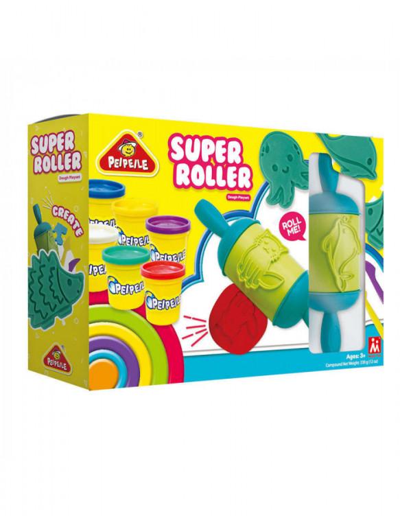 Plastilina Súper Roller 6930197632101 Plastelina