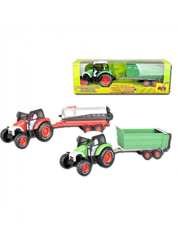 Tractor con Remolque 5022849736549 Coches, motos y camiones
