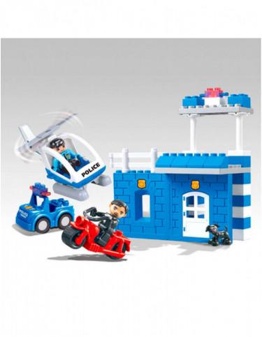 Bloques Construcción Policía 41 Piezas 5022849738697