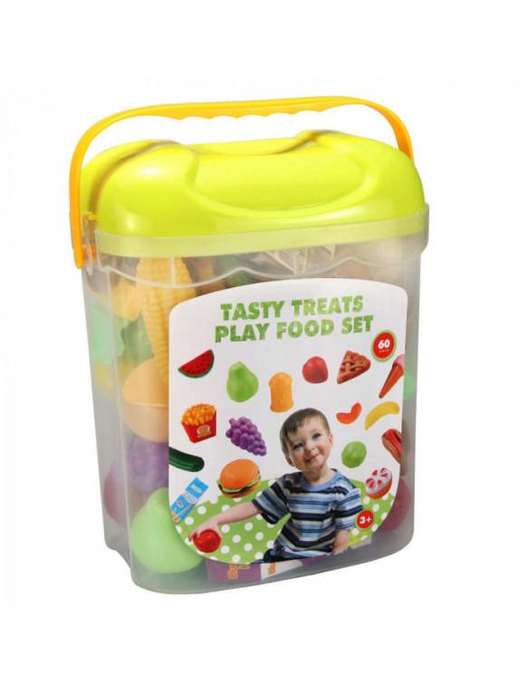 Cubo con 60 Piezas de Comida 5022849738802 Accesorios de cocina