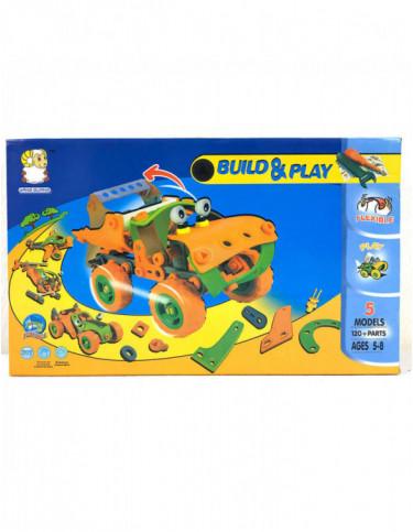 Construcción Camión 120 Piezas 5022849738963