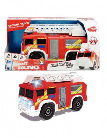 Camión de Bomberos con Luz y Sonido 4006333049873 Coches, motos