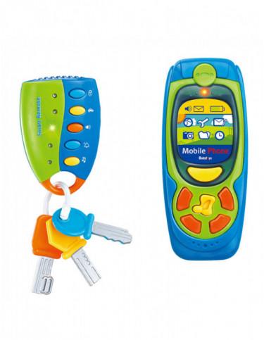 Teléfonpo y Llaves Infantiles