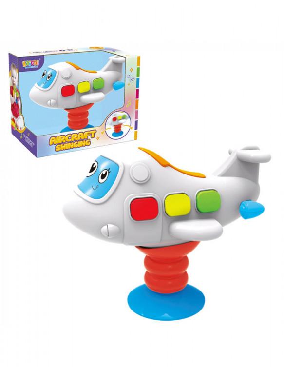 Avión Infantil con Ventosa 6931000091399 Sonajeros y mordedores