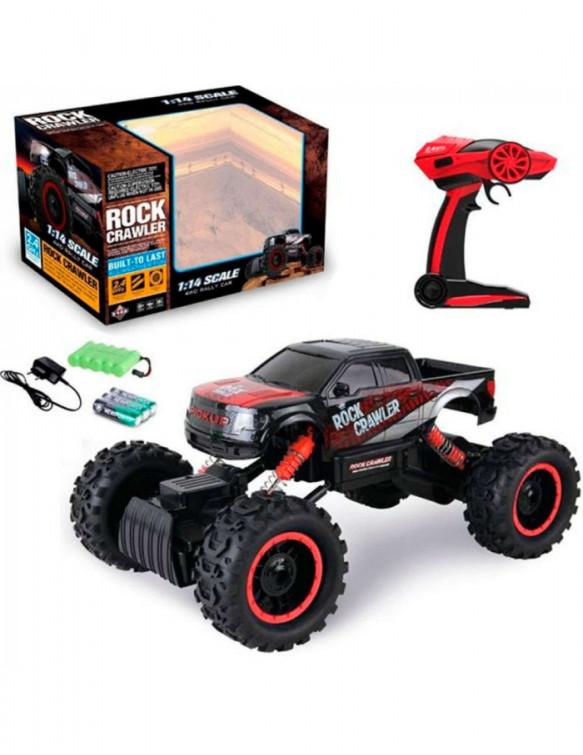 Coche 4x4 R/C Rock Crawler 6931000014015 Radio control