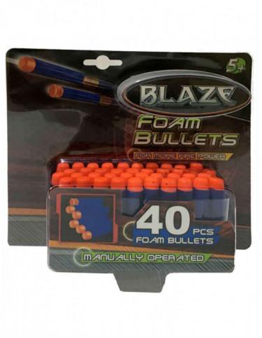 Balas Espuma Pistolas 40 Unidades 4895162813393