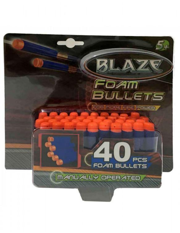 Balas Espuma Pistolas 40 Unidades 4895162813393 Armas y