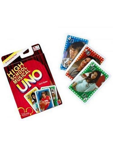 Uno High School Musical Mattel 027084430295 Juegos de estrategia