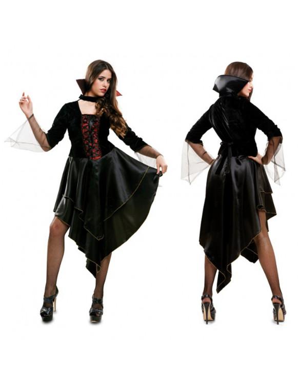 Disfraz Vampira Adulto Talla M-L 8435408219433 Para adultos