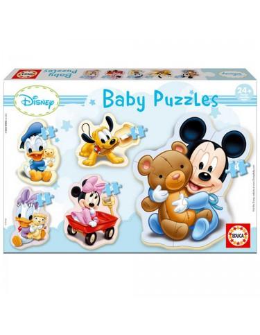 Mickey Puzzle Siluetas