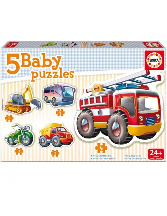 Baby vehículos Puzzle 8412668148666