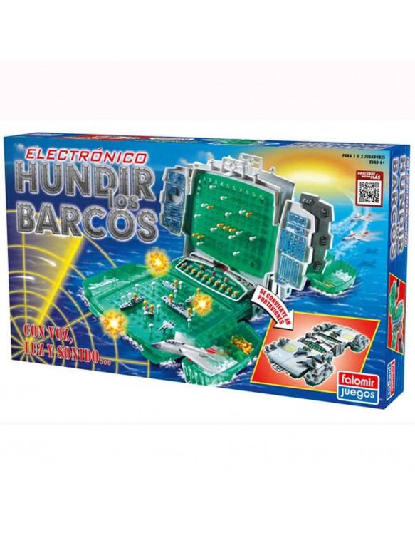 Hundir los Barcos Electrónico 8412553220040
