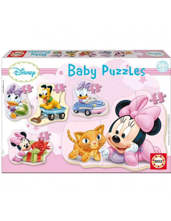 Baby Minnie Puzzles 8412668156128