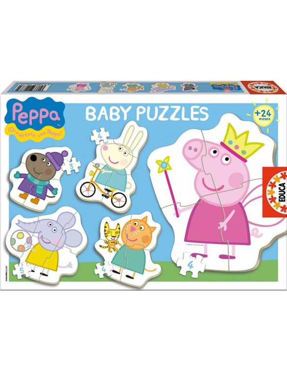 Peppa Pig siluetas. 8412668156227