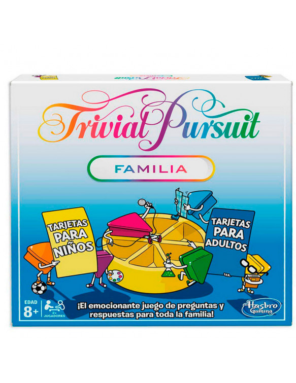 Trivial Pursuit Familia 2018 5010993514205 Juegos educativos