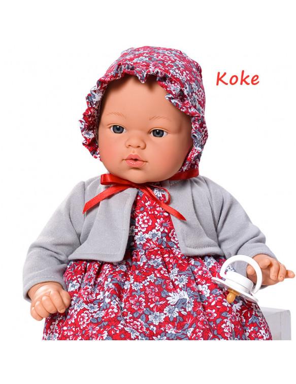 Bebé Koke con Vestido 8435384414761 Otras muñecas