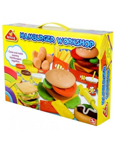 Plastilina Hamburgueseria 6930197632033 Plastelina