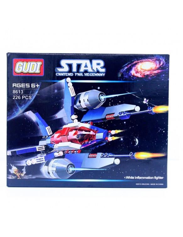 Construcción Nave Espacial 226 Piezas 5022849740348 Gudi