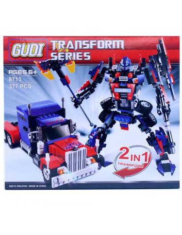 Construcción Robot 377 Piezas