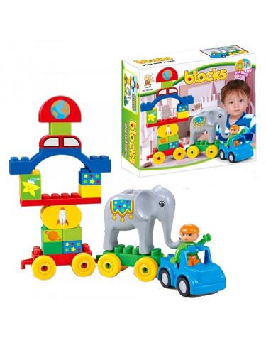 Construcción Tren Infantil 29 Piezas 5022849741031