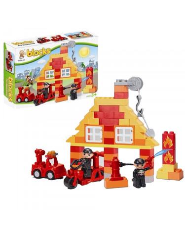 Construcción Estación Bomberos 74 Piezas 5022849741024