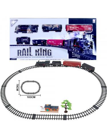 Circuito Tren Luz, Sonido y Humo 5022849739878