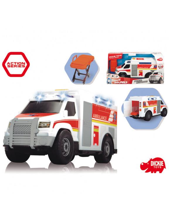 Ambulancia Luz y Sonidos 4006333049897 Coches, motos y camiones